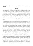 """Phân tích giá trị nhân văn cao cả của truyện ngắn """"Một con người ra đời"""" của Gorky"""