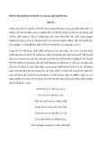 Bình giảng bài thơ Đò Lèn của tác giả Nguyễn Duy