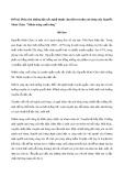 """Phân tích những đặc sắc nghệ thuật của thiên truyện anh hùng của Nguyễn Minh Châu: """"Mảnh trăng cuối rừng"""""""