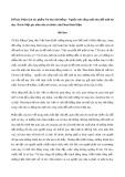 Phân tích tác phẩm Tư duy hệ thống - Nguồn sức sống mới của đổi mới tư duy (Trích Một góc nhìn của tri thức) của Phan Đình Diệu