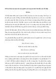 Phân tích tình cảm của người ra đi trong bài thơ Việt Bắc của Tố Hữu