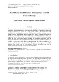 Basel III and credit crunch: An empirical test with focus on Europe