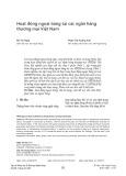 Hoạt động ngoại bảng tại các ngân hàng thương mại Việt Nam