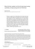 Phân tích thực nghiệm mối liên hệ giữa tăng trưởng xuất khẩu và tăng trưởng kinh tế ở Việt Nam