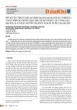 Kết nối thư viện dữ liệu mô hình địa hóa mã nguồn mở (PHREEQC) với mô hình mô phỏng khai thác để mô phỏng các tương tác địa hóa và sự dịch chuyển của nước bơm ép trong vỉa dầu khí