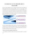 Cách đọc báo cáo tài chính đơn giản và nhanh nhất