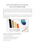Báo cáo tài chính là gì và cách làm báo cáo tài chính chi tiết