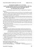 Đánh giá hiệu lực và an toàn thuốc Pyronaridine-artesunate (Pyramax®) trong điều trị sốt rét do Plasmodium falciparum chưa biến chứng tại tỉnh Đăk Nông (2017-2019)