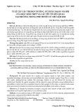 Tỷ lệ tật cận thị học đường, sử dụng mạng xã hội của học sinh THPT và các yếu tố liên quan tại trường Trung Phú huyện Củ Chi năm 2018