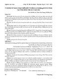 Tỷ lệ phụ nữ mang thai nhiễm siêu vi viêm gan B (HBSAG dương tính) tại tỉnh Bình Thuận năm 2018
