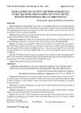 Đánh giá hiệu quả sử dụng chế phẩm sumilarv 0,5g ở thực địa trong phòng chống véc tơ lây truyền sốt xuất huyết Dengue, Zika và Chikungunya