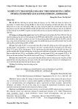 Nghiên cứu thành phần hóa học theo định hướng chống oxy hóa cây kim thất láng (Gynura nitida DC., Asteraceae)
