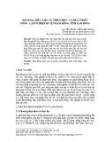 Đánh giá điều kiện tự nhiên phục vụ phát triển nông - lâm nghiệp huyện Đam Rông, tỉnh Lâm Đồng (Tạp chí Khoa học, Trường Đại học Sư phạm, Đại học Huế)