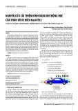 Nghiên cứu cải thiện hình dáng khí động học của thân vỏ xe điện HaUI-EV2