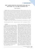 Thử nghiệm phương pháp đồng hóa độ cao sóng khu vực ven biển tỉnh Phú Yên