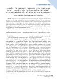 Nghiên cứu giải pháp giám sát (xâm thực mặn vùng ven biển) môi trường thông qua mạng cảm biến không dây sử dụng bo mạch Arduino