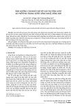 Ảnh hưởng của nhiệt độ tới giá trị tổng nitơ và phốtpho trong nước sông Nhuệ, sông Đáy