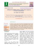 Antifungal susceptibility profile of Candida and its comparison in various Candida species