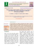 Nutrient content, uptake, quality of chickpea (Cicer arietinum L.) and fertility status of soil as influenced by fertilization of potassium and sulphur