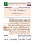 Genetic divergence in finger millet (Eleusine coracana (L.) Gaertn.)