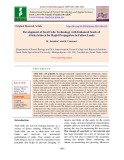 Development of seed cube technology with enhanced seeds of Albizia lebbeck for rapid propagation in fallow lands