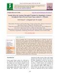 Genetic diversity analysis through D 2 statistic for quantitative traits in germplasm lines of green gram [Vigna radiata (L.) Wilczek]