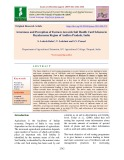 Awareness and perception of farmers towards soil health card scheme in rayalaseema region of andhra Pradesh, India