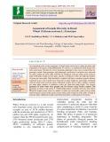 Assessment of genetic diversity in bread wheat (Triticum aestivum L.) genotypes