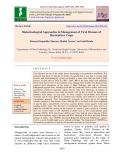 Biotechnological approaches in management of viral diseases of horticulture crops