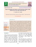 Impact of irrigation and nutrients on the performance of Bajra napier hybrid grass grown under light sandy soil
