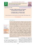 Economics of milk production and marketing in thoubal district of Manipur, India