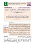 Soil fertility status after harvest of wheat (Triticum aestivum L) in salt affected soils of gujarat as influenced by iron and zinc enriched FYM