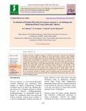 Evaluation of genetic diversity in Gloriosa superba L, an endangered medicinal plant using molecular marker