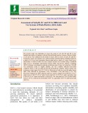 Assessment of soil pH, EC and OC in different land use systems of Doda district, J&K, India