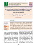 A comparative study on nutritional analysis of proximate composition and total mineral contents of different varieties of pearl millet