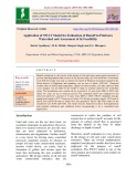 Application of SWAT model for estimation of runoff in Pindwara watershed and assessment of its feasibility