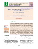 Bullying, victimization and fighting in secondary school: Gender-based differences