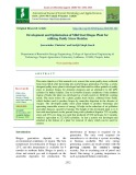 Development and optimization of mild steel biogas plant for utilizing paddy straw residue