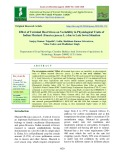 Effect of terminal heat stress on variability in physiological traits of indian mustard (Brassica juncea L.) due to late sown situation