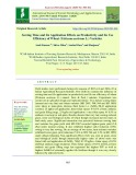 Sowing time and Zn application effects on productivity and Zn use efficiency of Wheat (Triticum aestivum L.) varieties