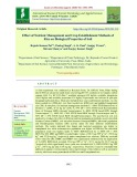 Effect of nutrient management and crop establishment methods of rice on biological properties of soil