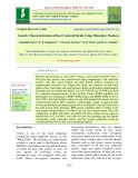 Genetic characterization of Desi cotton hybrids using molecular markers