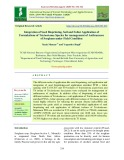 Integration of seed biopriming, soil and foliar application of formulations of Trichoderma species for management of anthracnose of sorghum under field condition
