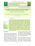 Feeding of different categories of fish, their nutritional requirements and implication of various techniques in fish culture – A review