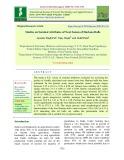 Studies on seminal attributes of neat semen of hariana bulls