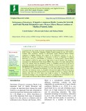 Performance of strawberry (Fragaria x ananassa Duch.) varieties for growth and fruit physical parameters under western Malwa plateau conditions of Madhya Pradesh, India