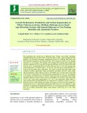 Growth performance, productivity and Carbon sequestration of wheat (Triticum assstivum)- Shisham (Dalbergia sissoo) based agri-silviculture system with especial reference to tree pruning intensities and agronomic practices