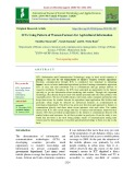 ICTs using pattern of women farmers for agricultural information