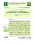 Influence of balanced fertilization on productivity, nutrient use efficiency and profitability of rice in Inceptisol: A review