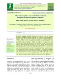 Effect of sowing dates on seed yield, oil yield and economics of different safflower genotypes